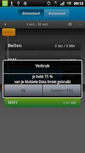 Ziggo Verbruik - screenshot thumbnail