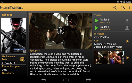 CineTrailer Cinema & Showtimes 4.0.46 screenshots 14