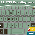 A. I. Type Retro Keyboard א icon