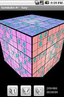 Screenshot of Sudokube - 3D Sudoku