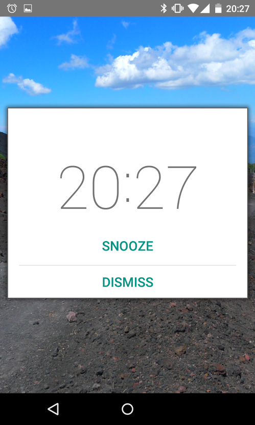 Simple Alarm Clock Free No Ads - screenshot
