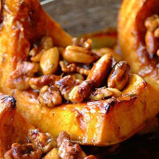 Honey and Thyme Roasted Pumpkin Recipe