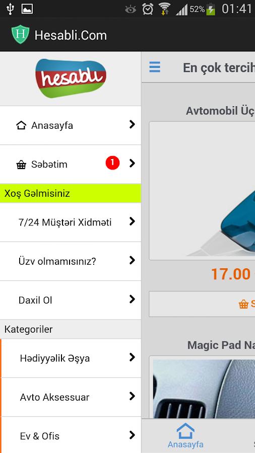 Hesabli.Com Fürsətləri- screenshot