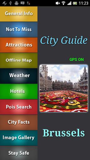 Brussels Offline Guide