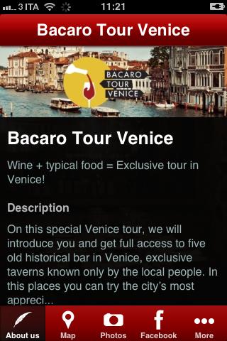 Bacaro Tour Venice