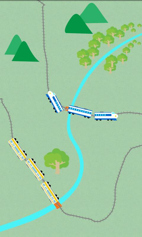 Happy trains! for Young kids - screenshot