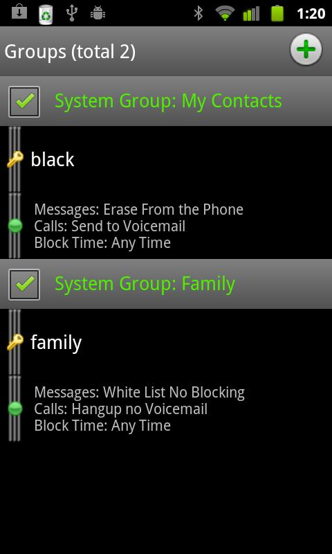 Extreme Call Blocker (Stealth) - screenshot