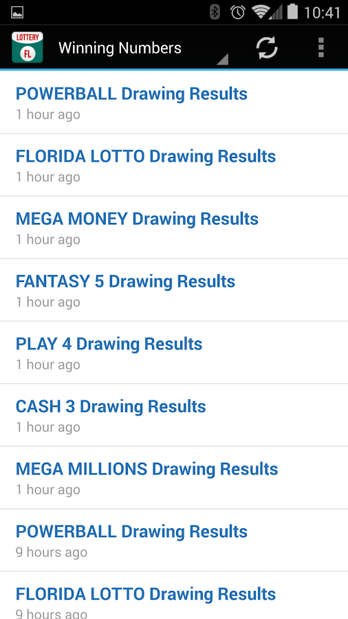 Lottery Florida Results Winning Numbers