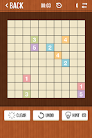 Screenshot of Number Link - Logic Board Game
