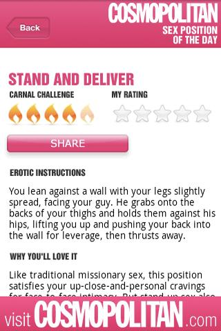 Cosmo Sex Position of the Day- screenshot