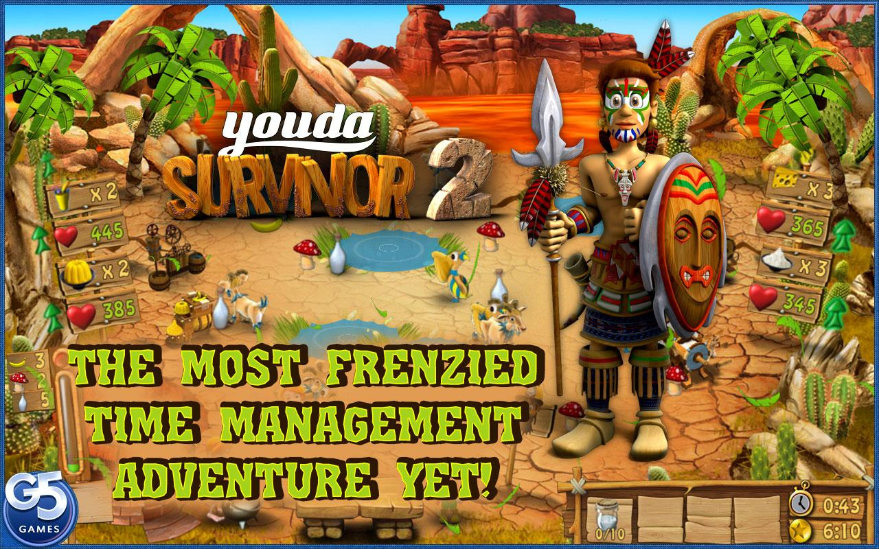Youda Survivor 2- screenshot
