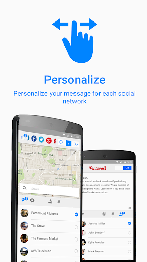 Social Media, Twitter, Google+ 3.2.1 screenshots 3