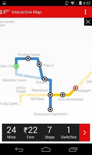 Delhi-NCR Metro  screenshots 3