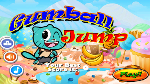 Gumball Flying Candyland Fun