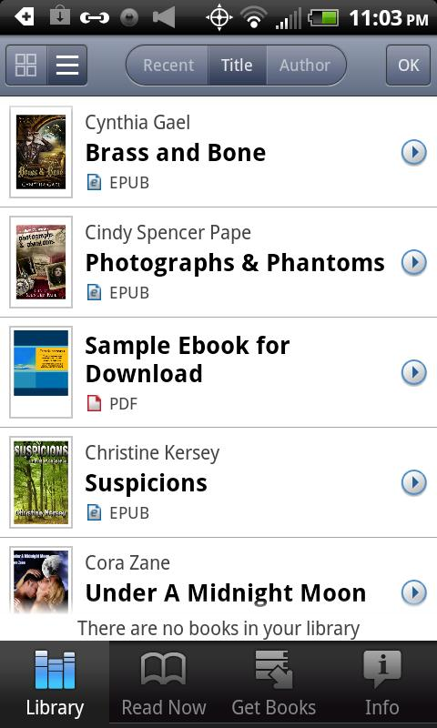Diesel eBooks Store - screenshot
