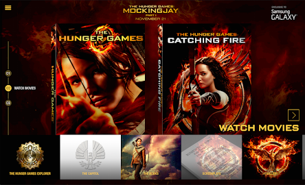 The Hunger Games Movie Pack Screenshot 2