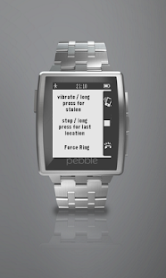 Wear pebble  finder / locator- screenshot thumbnail