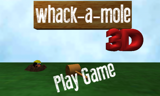 Whack a mole 3D BETA