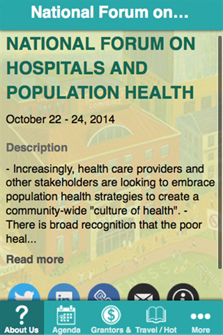 Hospitals Population Health