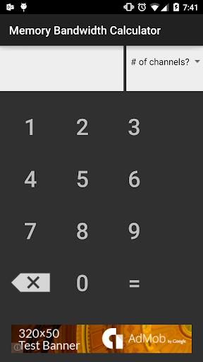 Memory Bandwidth Calculator