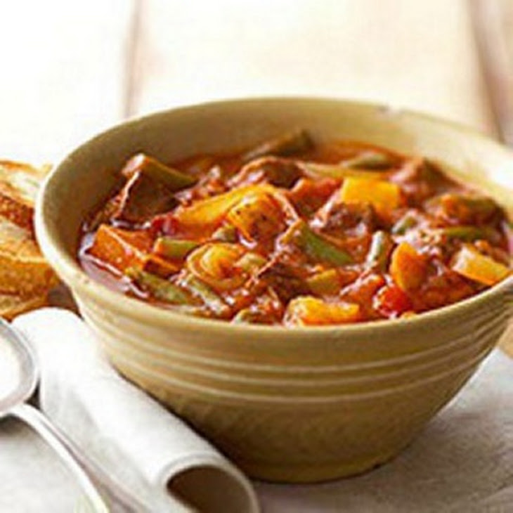 Southwest Steak and Potato Soup Recipe
