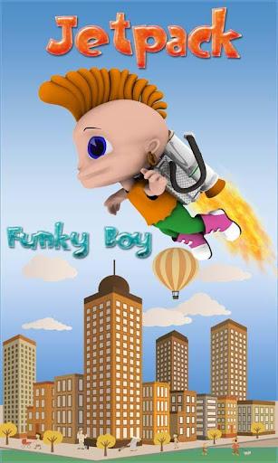 Jetpack Funky Boy