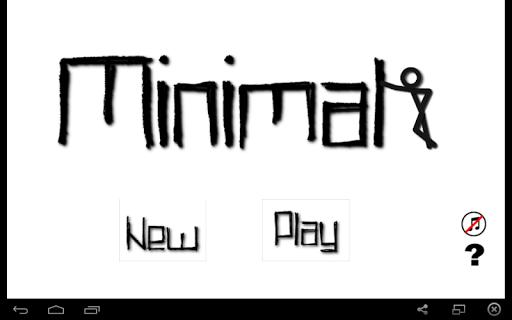 Minimal Platform Game