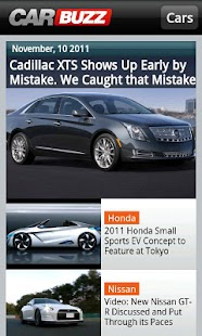 CarBuzz - Car news and reviews - screenshot thumbnail