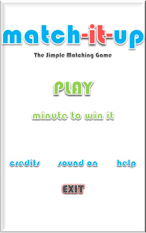 Match-it-Up - screenshot