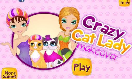 瘋狂的貓夫人化妝