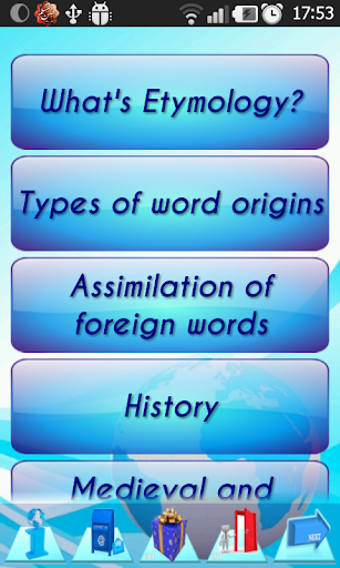 Etymology: 280 Roots of words