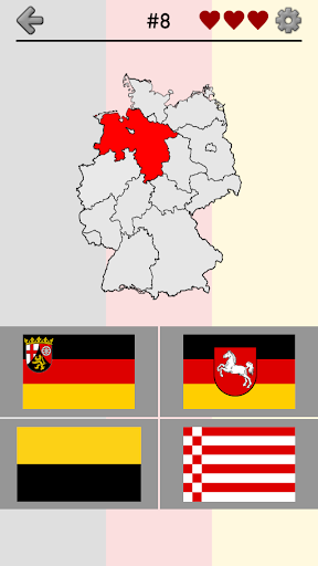 German States: Germany Quiz