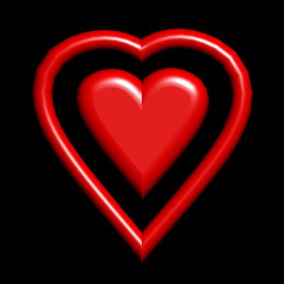 Валентина сердце 3D