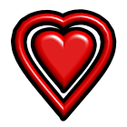 Valentine Heart  3D icon