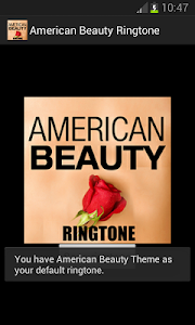 American Beauty Ringtone screenshot 1