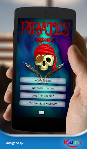 【免費個人化App】Pirates Keyboard-APP點子