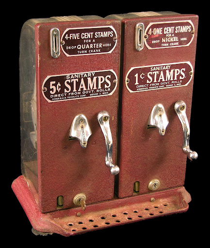 Schermack stamp vending machines