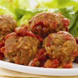 Minute® Rice Porcupine Meatballs