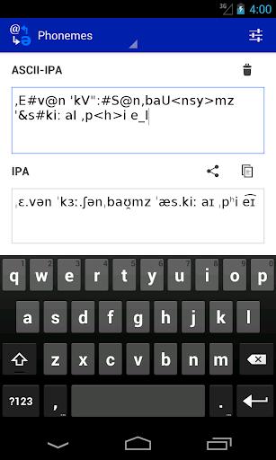 Phoneme Converter  screenshots 3