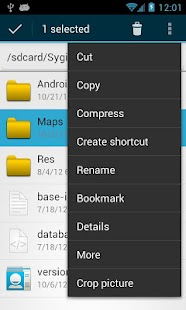 OI File Manager Capture d'écran