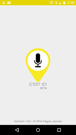 C'EST ICI