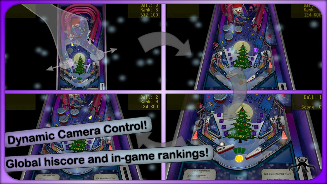 Xmas Pinball- screenshot