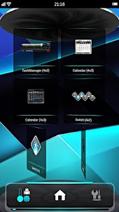 Next Launcher 3D Shell Lite - screenshot thumbnail