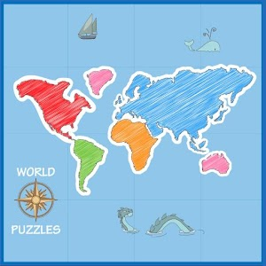 World map puzzle android apps on google play cover art gumiabroncs Images