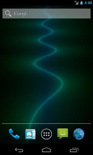 Neon River Live Wallpaper