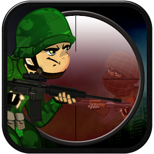 Sniper hunt Terrorists Icon