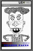 Screenshot of Crazee Faces