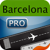 Barcelona Airport+Flight Track