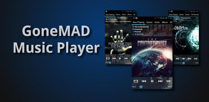 GoneMAD Music Player Full v1.6.1 APK