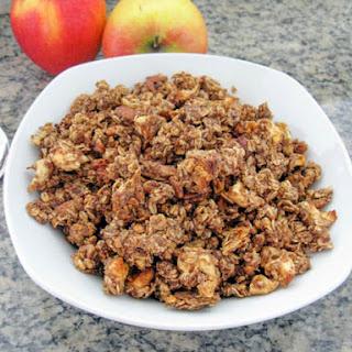 Vegan Apple Cinnamon Granola